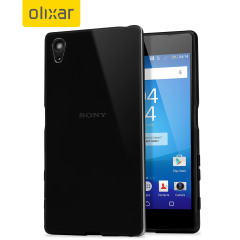 FlexiShield Sony Xperia Z5 Case - Solid Black
