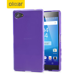 FlexiShield Sony Xperia Z5 Compact Case - Purple