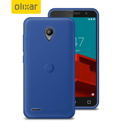 FlexiShield Vodafone Smart Prime 6 Gel Case - Blue