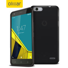 FlexiShield Vodafone Smart Ultra 6 Gel Case - Black