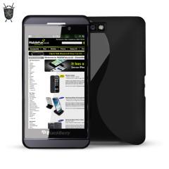 FlexiShield Wave Case for Blackberry Z10 - Black