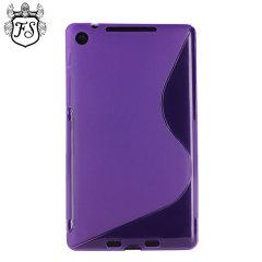 FlexiShield Wave Case for Google Nexus 7 2013 - Purple
