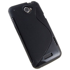 FlexiShield Wave Case For HTC One X - Black