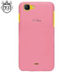 Flexishield Wiko Kite 4G Case - Pink