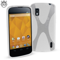 FlexiShield X-Case for Google Nexus 4 - Clear
