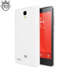 Flexishield Xiaomi RedMi Note Case - Frost White