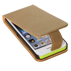Flip Case And Stand For Apple iPhone 5C - Beige