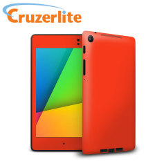 Fluorescent Red Skin for Google Nexus 7 2013 - Red