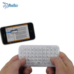 Freedom i-Connex Pocket Bluetooth Keyboard - White