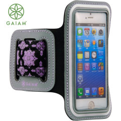 Gaiam Sports Armband for iPhone 5S / 5 - Purple