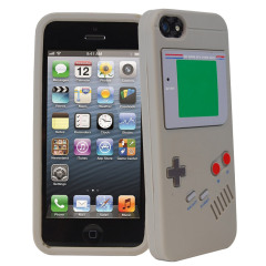 Game Boy Silicone Case for iPhone 5S / 5 - Grey