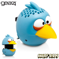 Gear4 Angry Birds G4PG780G Mini Speaker - Blue Bird