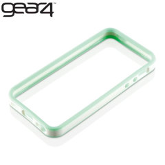 Gear4 G4IC507G iPhone 5 Rubber Bumper Case - Green / White