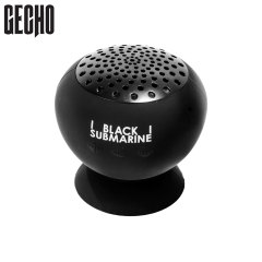 Gecho Black Submarine Bluetooth Portable Suction Speaker Stand - Black