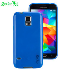 Gecko Glow Samsung Galaxy S5 Glow in the Dark Case - Blue