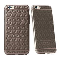 Gelin Series Classic Diamond iPhone 6S / 6 Case - Transparent Black