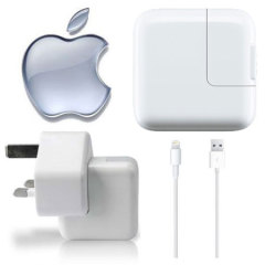 Genuine Apple Lightning Mains Charger - iPad Air / iPad Mini / iPad 4