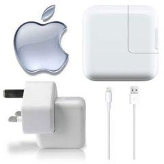 Genuine Apple Lightning Mains Charger - iPad Air / iPad Mini / iPad 4