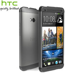 Genuine HTC One Double Dip Hard Shell - HC C840 - Black / Grey / Black