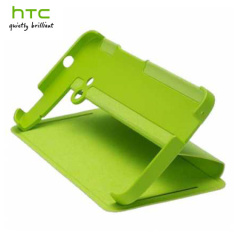 Genuine HTC One M7 Flip Case - HC V841 - Green