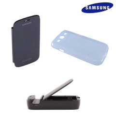 Genuine Samsung Essential Accessory Gift Pack - Blue - ETC-K1G6BEGSTD