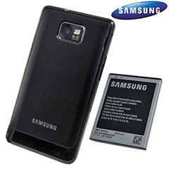 Genuine Samsung Extended Battery Kit for Galaxy S2 - 2000mAh - EB-K1A2EBEGSTD