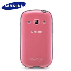 Genuine Samsung Galaxy Fame Slim Case - Pink