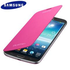 Genuine Samsung Galaxy Mega 6.3 Flip Case Cover - Pink