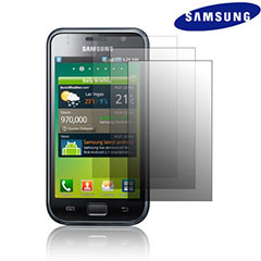 Genuine Samsung Galaxy S Screen Protector Pack - 3 Pack