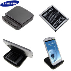 Genuine Samsung Galaxy S3 Extra Battery Kit - EB-H1G6LLUGSTD