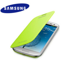 Genuine Samsung Galaxy S3 Flip Cover - Mint - EFC-1G6FMECSTD