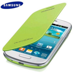 Genuine Samsung Galaxy S3 Mini Flip Cover - Mint - EFC-1M7FMECSTD