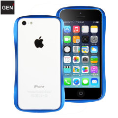 GENx iPhone 5C Aluminium Bumper - Blue