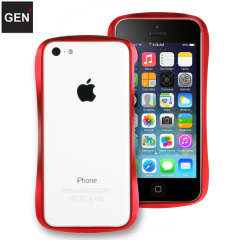 GENx iPhone 5C Aluminium Bumper - Red