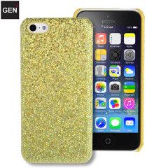 GENx iPhone 5C Glitter Case - Gold
