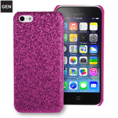 GENx iPhone 5C Glitter Case - Purple