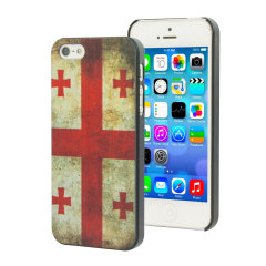 Georgia Flag Design iPhone 5S / 5 Case