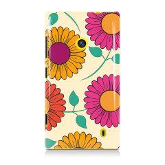 Gerbera Garden Nokia Lumia 525 / 520 Hard Back Case - Floral