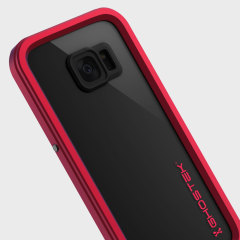 Ghostek Atomic 2.0 Samsung Galaxy S7 Edge Waterproof Case - Red