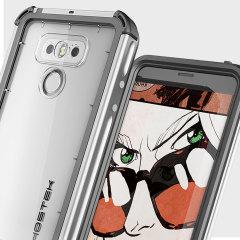 Ghostek Atomic 3.0 LG G6 Waterproof Tough Case - Silver