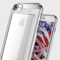 Ghostek Cloak 2 Series iPhone 7 Aluminium Tough Case - Clear / Silver