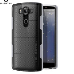 Ghostek Cloak LG V10 Tough Case - Clear / Silver