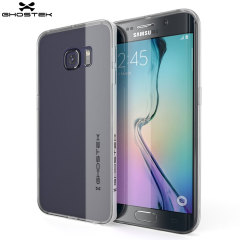 Ghostek Cloak Samsung Galaxy S6 Edge Tough Case - Clear / White
