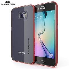 Ghostek Cloak Samsung Galaxy S6 Tough Case - Clear / Red