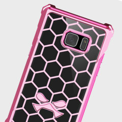 Ghostek Covert Samsung Galaxy Note 7 Bumper Case - Clear / Pink