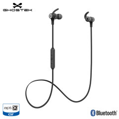 Ghostek Silencer Wireless Bluetooth aptX Stereo Sports Earphones