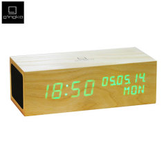 Gingko Music Click Clock - Orange LED