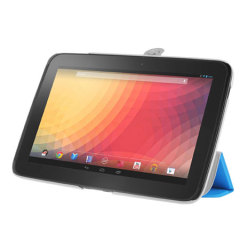 Google Nexus 10 Slim Book Case - Blue
