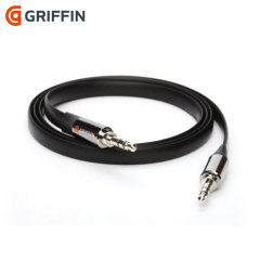 Griffin 3.5mm to 3.5mm Auxiliary Audio Flat 3ft Cable
