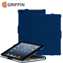Griffin Journal and Workstand Case for iPad Air - Blue